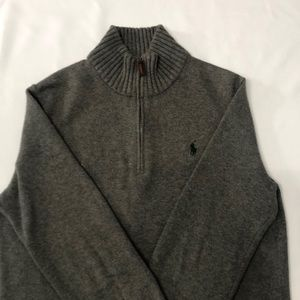 Polo Ralph Lauren Gray Sweater Size M